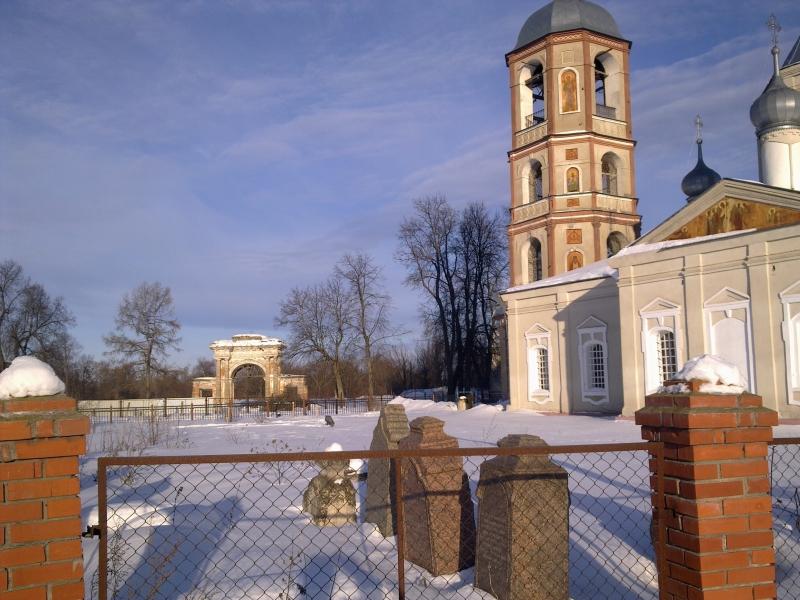 домашняя зиму церковь троицы живоначальной в горетово дом